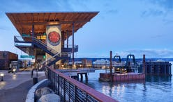 The new Mukilteo Multimodal Ferry Terminal in Washington is inspired by the Coast Salish longhouse