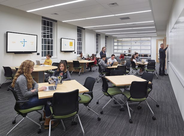 interior learning commons - Design Collective