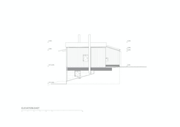 Elevation East © Mjölk architekti