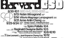 Get Lectured: Harvard GSD, Fall '21