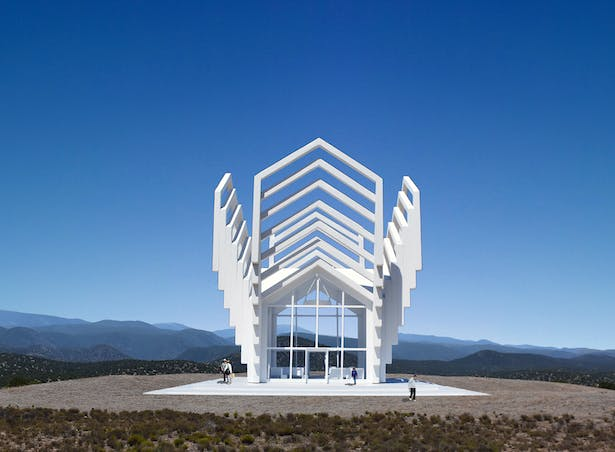 A Chapel For New Mexico, a nondenominational chapel designed specifically for Santa Fe New Mexico.