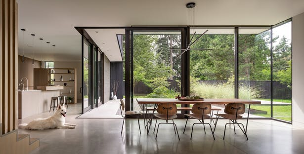 Yo-Ju Courtyard House designed by Wittman Estes (Image: Andrew Pogue)