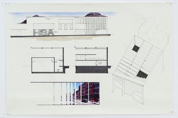 Sections, Elevations, and Axonometric