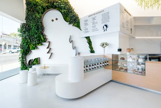 Coffee for Sasquatch, Los Angeles, CA. Designed by: Dan Brunn Architecture. Photo: Brandon Shigeta​