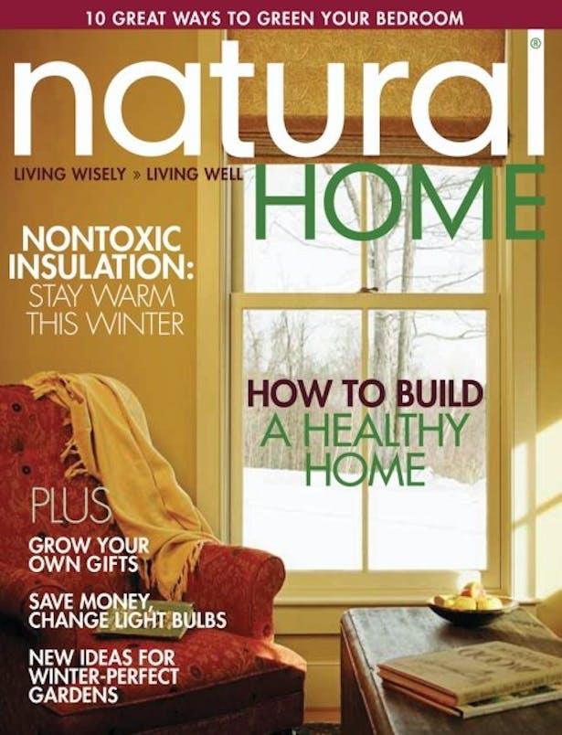 Natural Home mag - Dec 2006