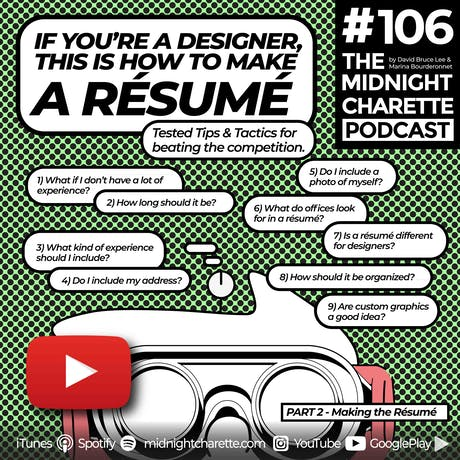 How to make a résumé - EP #106