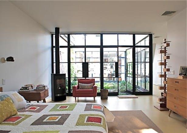 Master Bedroom / Courtyard