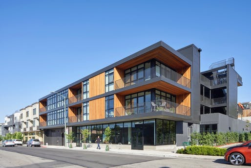 Architecture Merit: The Amador Apartments. Honoree: jones | haydu. Photo: Bruce Damonte.