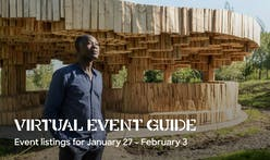 Archinect's Virtual Event Guide for the week of Jan 27-Feb 3