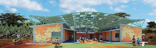 Ambulatory Surgical Facility; Kyabirwa, Uganda by Kliment Halsband Architects. Image: Kliment Halsband Architects