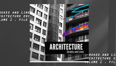 Strokes and Lines | Architecture Scribbles on youtube