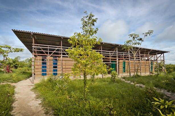 classroom facade daytime