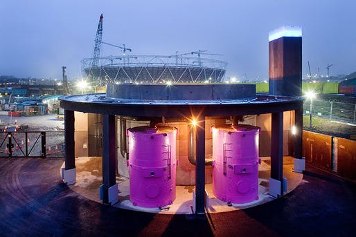 The Olympic Park Pumping Station photo by Stevn Bates:ODA.
