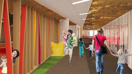 Concept for Educational Center /// Minneapolis, MN