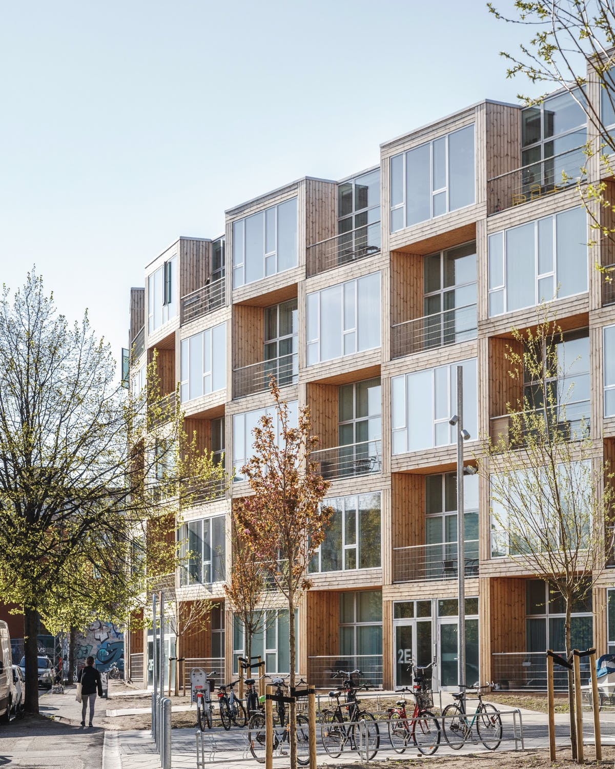 """Cheap Apartments Low Income: BIG Completes """"checkered"""" Dortheavej Affordable Housing"""