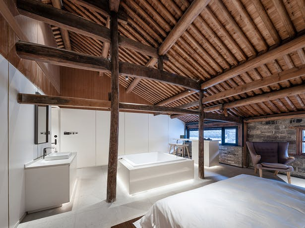 Courtyard Guest Room, photo: Wu Qingshan