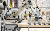 Inside a new robotic housing factory in British Columbia, Canada