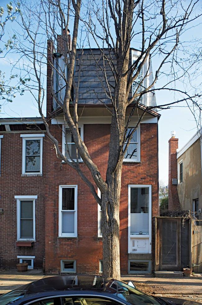 Tying added a third floor to her Philadelphia house. Annie Schlechter