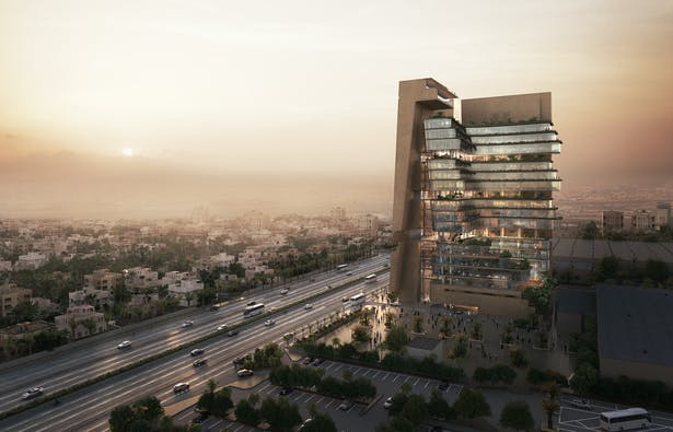 Abdul Latif Jameel's Corporate Headquarters, Jeddah, Kingdom of Saudi Arabia © AsymmetricA