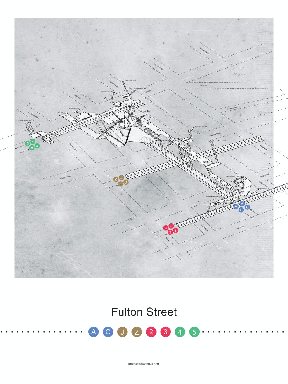 Nyc Street Subway Map.Cut Away Confusion From Your Nyc Commute With These Beautiful Subway