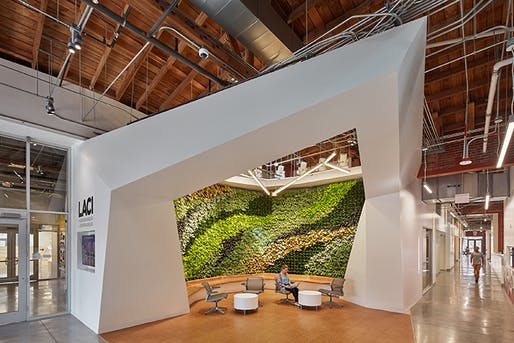 "The Beverly Willis Architecture Foundation and the Architecture and Design Museum in Los Angeles have unveiled the latest ""Built by Women"" exhibition. Shown: The La Kretz Innovation Campus by JFAK Architects. Photo by Benny Chan"