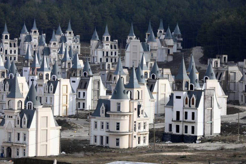 Burj Al Babas, the city of empty castles   News   Archinect