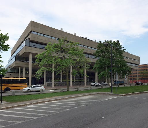 "Gund Hall, home of the Harvard University Graduate School of Design. Photo courtesy of Wikimedia user <a href=""https://commons.wikimedia.org/wiki/File:Harvard-GSD-Gund-Hall-Cambridge-05-2018b.jpg"">Gunnar Klack.</a>"