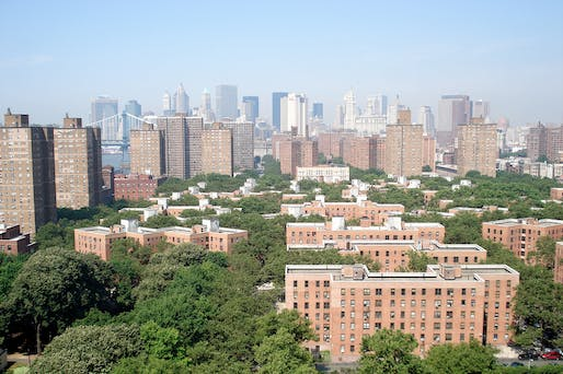 View of the Mayor Fiorello H. LaGuardia Houses in New York City. Image courtesy of Wikimedia user Wikiwiki718.