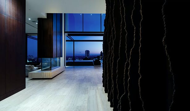 Collingwood Residence, Hollywood Hills. Completed 2016