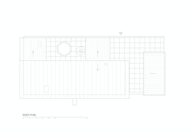 Roof Plan © Mjölk architekti