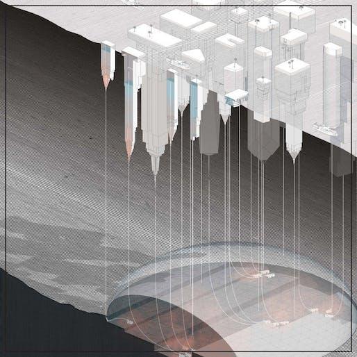 "Design Earth: ""Below the Water Towers,"" Pacific Aquarium, 2016."