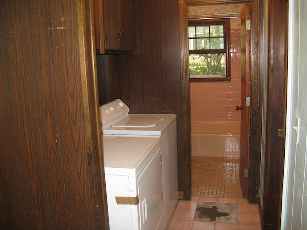 Master Bath and Laundry - Existing