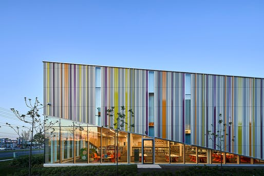 Albion District Library; Toronto, Ontario, Canada | Perkins+Will. Photo: Doublespace Photography.