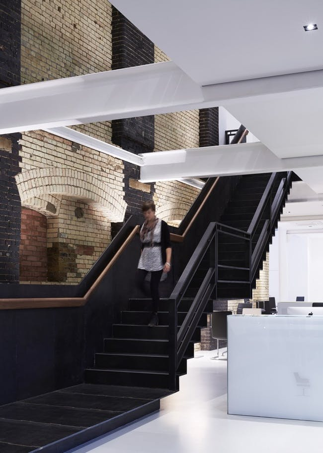 Brunner Showroom in London, UK by Benedetti Architects