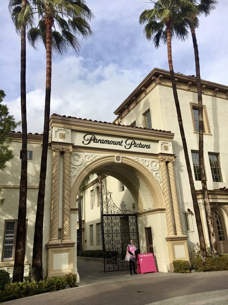 Paramount Studios front Entrance. Photo by Katherine Guimapang