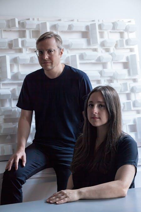 Emily Abruzzo and Gerald Bodziak of ABA. Image courtesy of ABA