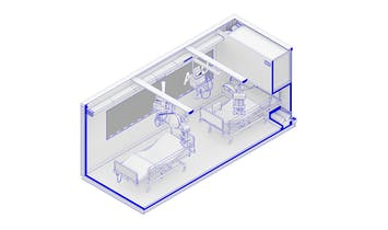 Carlo Ratti and collaborators propose CURA: emergency COVID-19 medical pods inside converted shipping containers