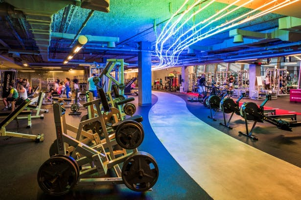 Fit Republik, Dubai, by Aedas Interiors - Gym