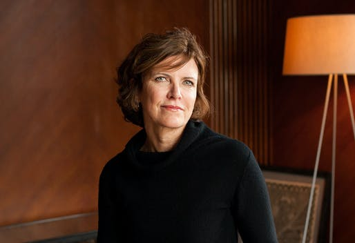 Marcus Prize laureate Jeanne Gang. Photo © Sally Ryan.
