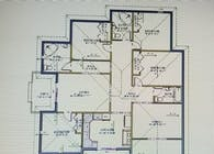 Residental Luxury 4 Bedroom Plan Layout