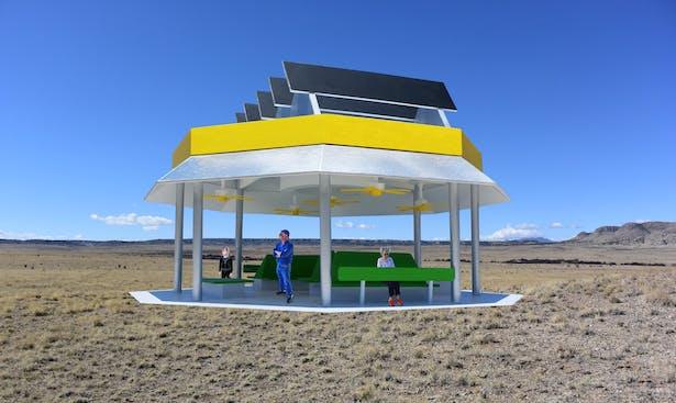 The Solar Breeze Pavilion