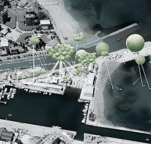 'Beyond the Clouds' - finalist Smart Harbor entry by Zuhal Kol, Carlos Zarco Sanz, and Jose Luis Hidalgo.