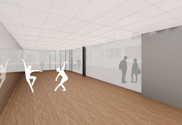 First Floor Dance Studio