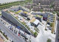 Hangzhou Duolan Dong Dong Mixed Use Complex, 2009-2012