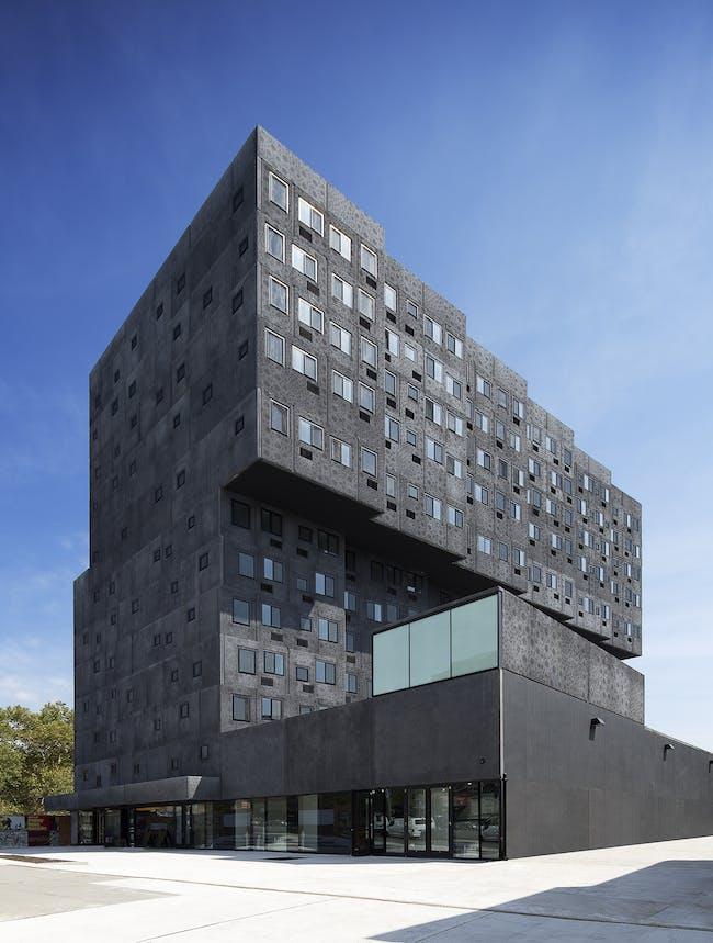 Sugar Hill is a mixed-use housing development in New York City's Harlem. (Photo: Ed Reeve, courtesy of Adjaye Associates)
