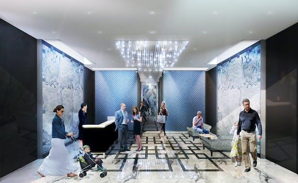 Park Avenue - Residential Lobby Interior