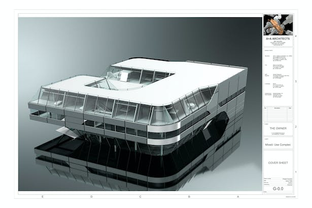Cover Sheet, Exterior Render