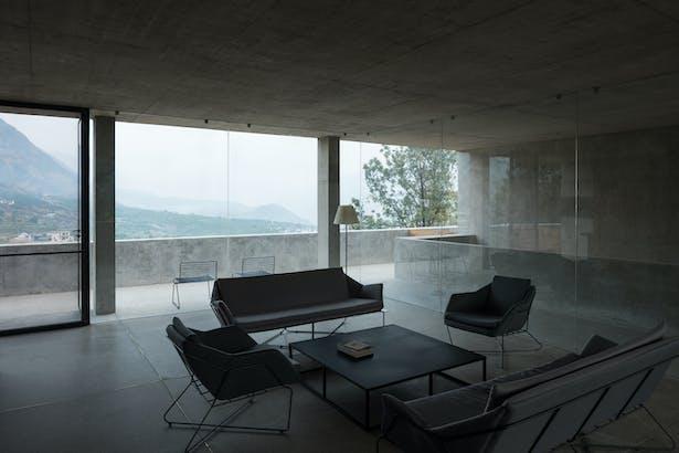 Third floor hotel lounge © Chen Hao
