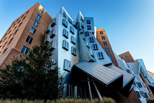 MIT Stata Center. Image © Robbie Shade/Flickr