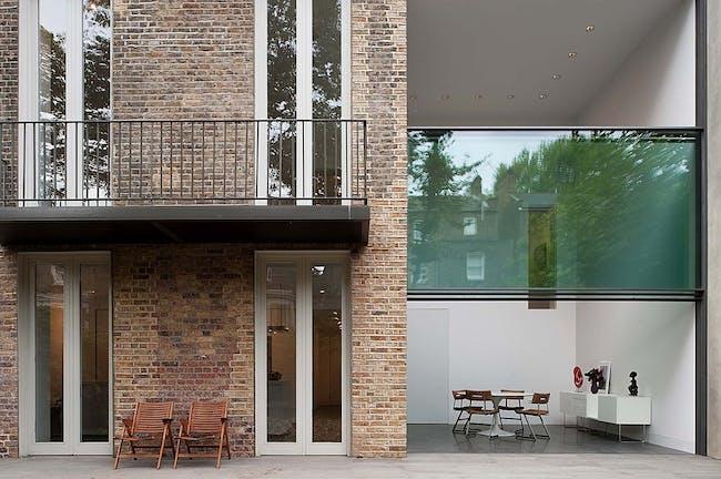 House on Bassett Road in London, UK by Paul+O Architects; Photo: Fernando Guerra